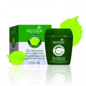 BIO MYRISTICA ANTI - ACNE & PIMPLES FACE PACK 25 GM